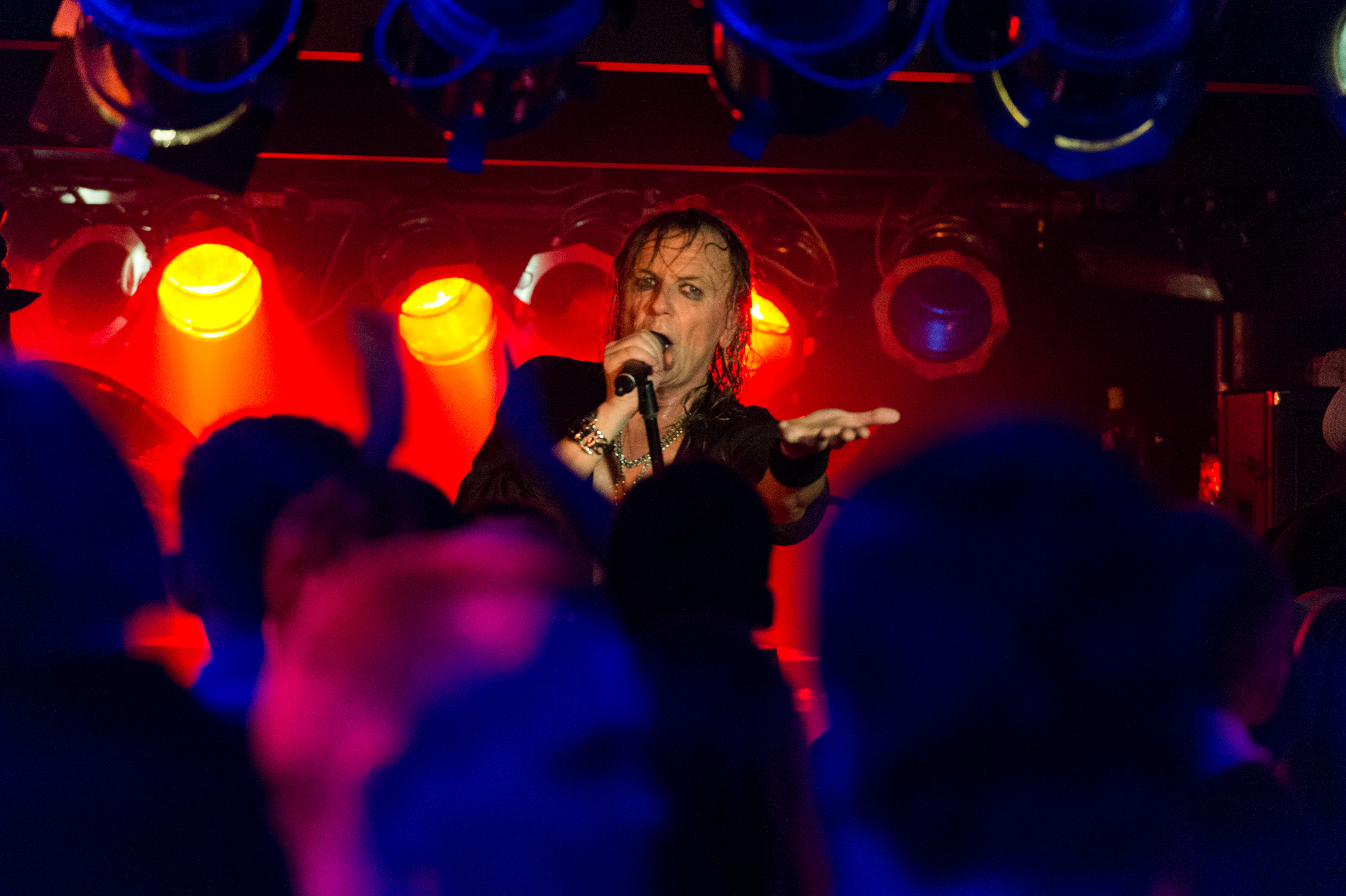 Pretty Maids på Walthers Musik Cafe